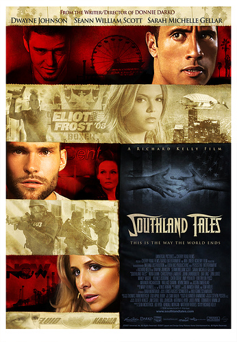 Cartel final para Southland Tales